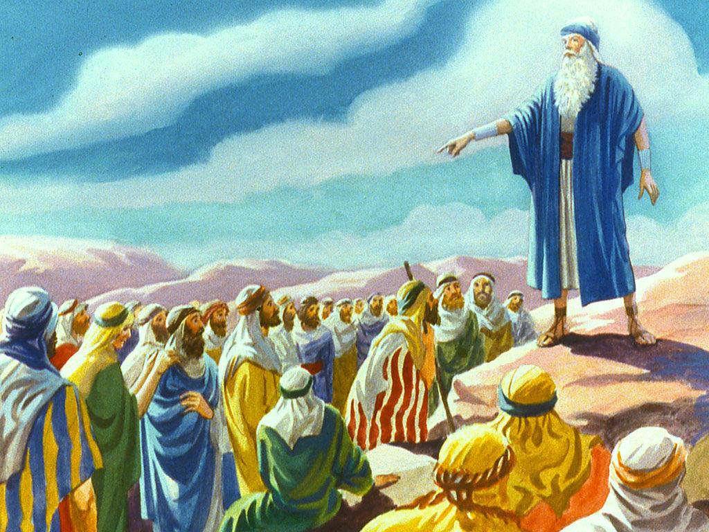 Moisés no deserto